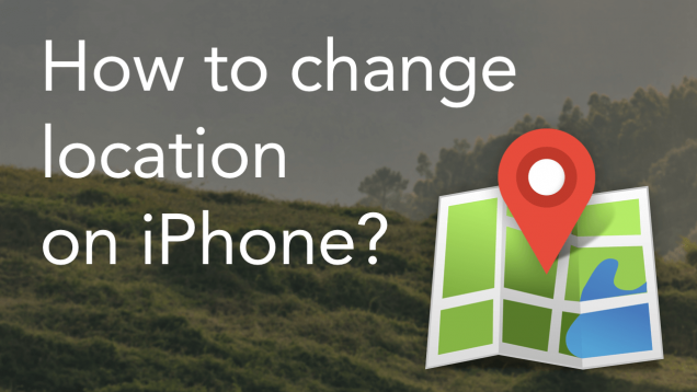 How to change the location in iphone device