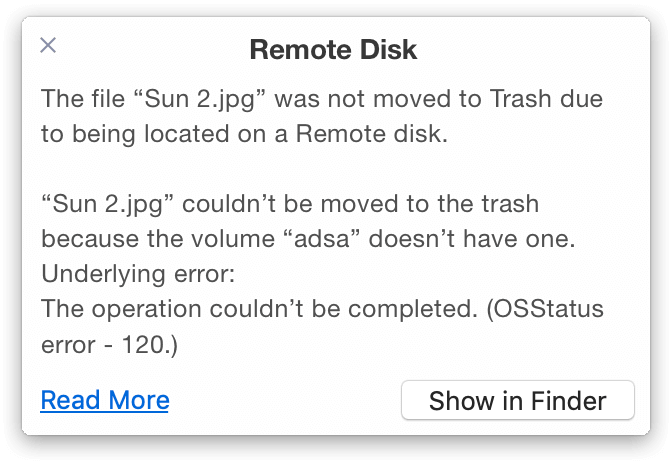 remote disk system view