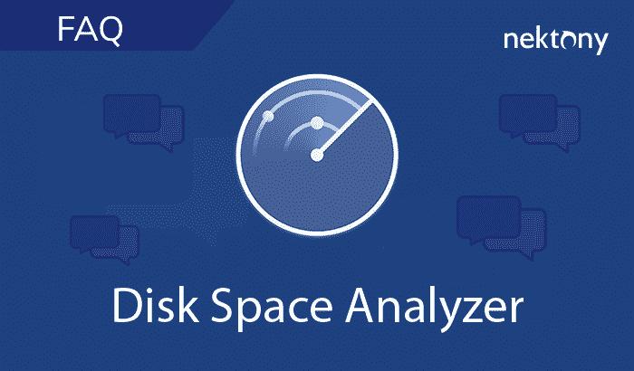 FAQ - Disk Space Analyzer