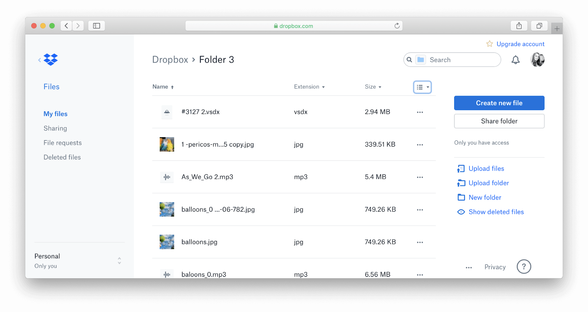 dropbox duplicate files