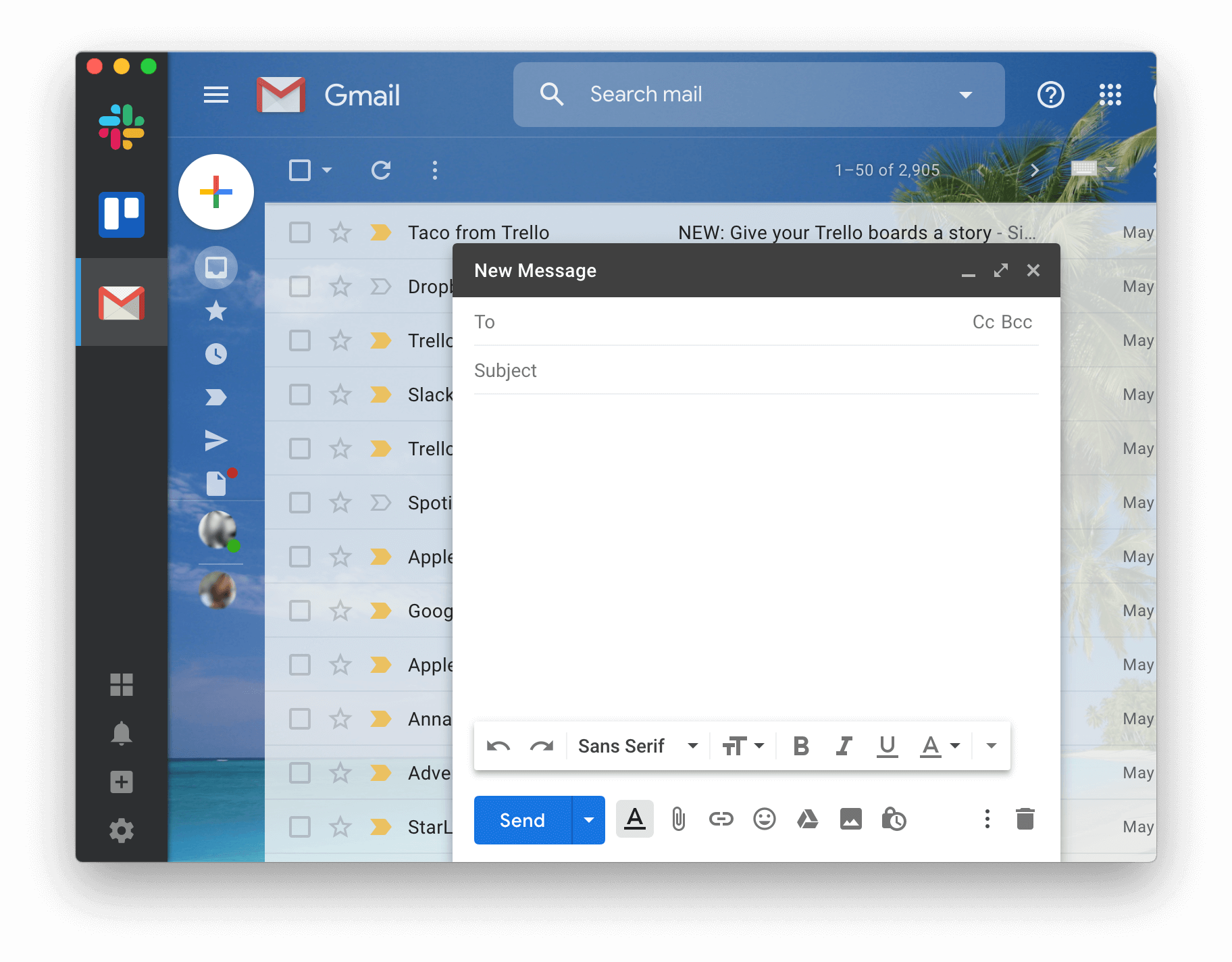 messages app for mac