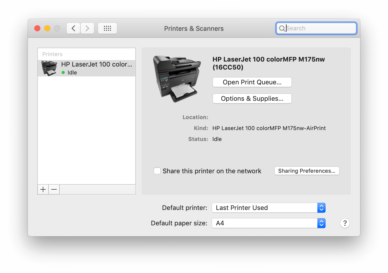 how to uninstall printer on mac