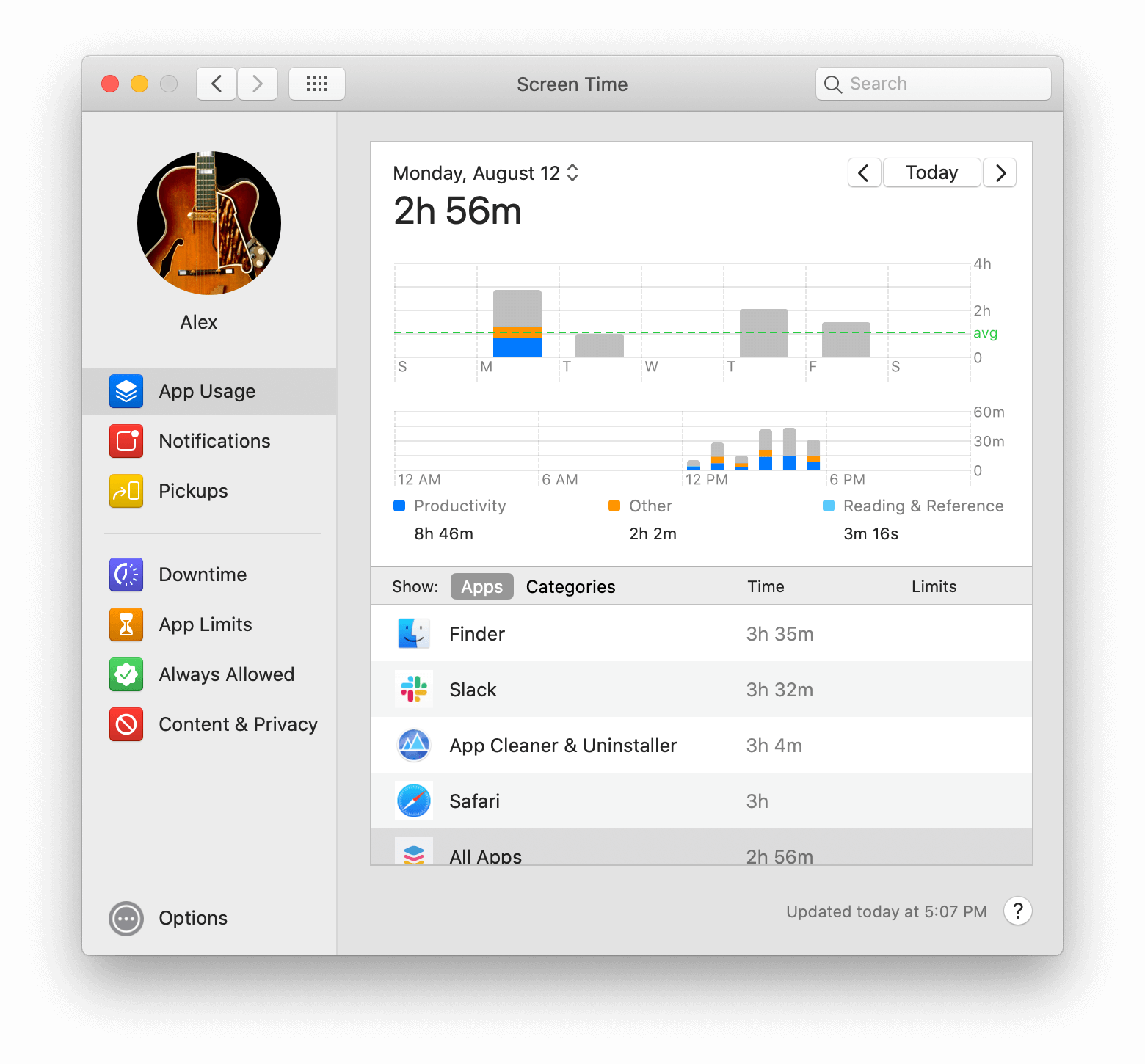 screen time app