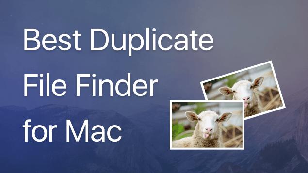 best duplicate finder mac