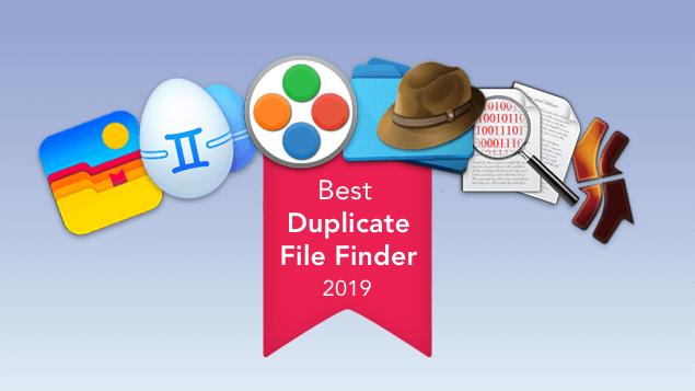 best duplicate file finder for mac