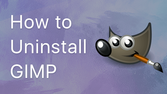 How to correctly uninstall GIMP from Mac
