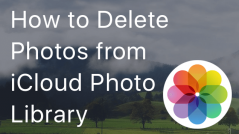 How to remove photos from iCloud Photo Library