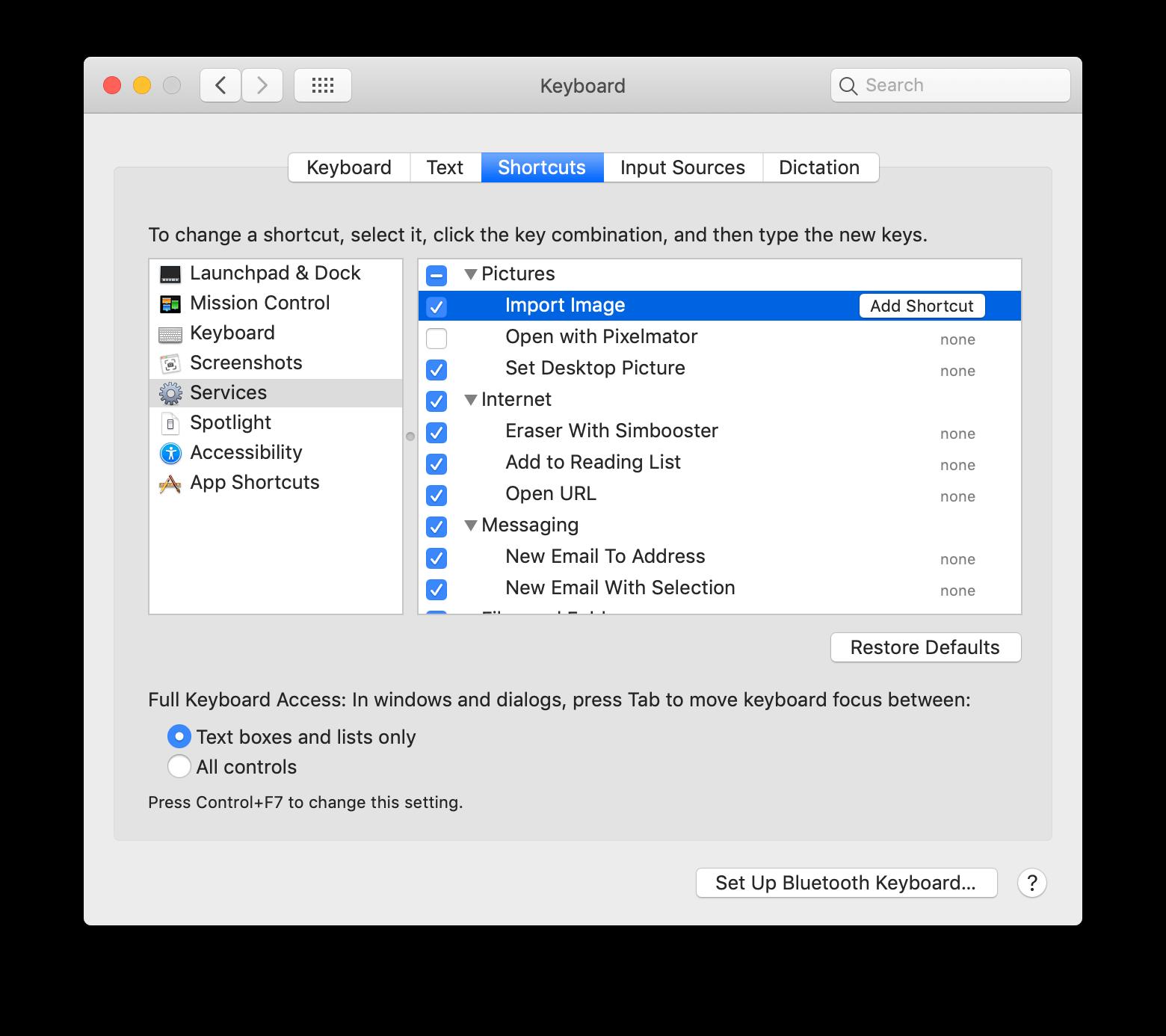 mac screenshot keyboard shortcut