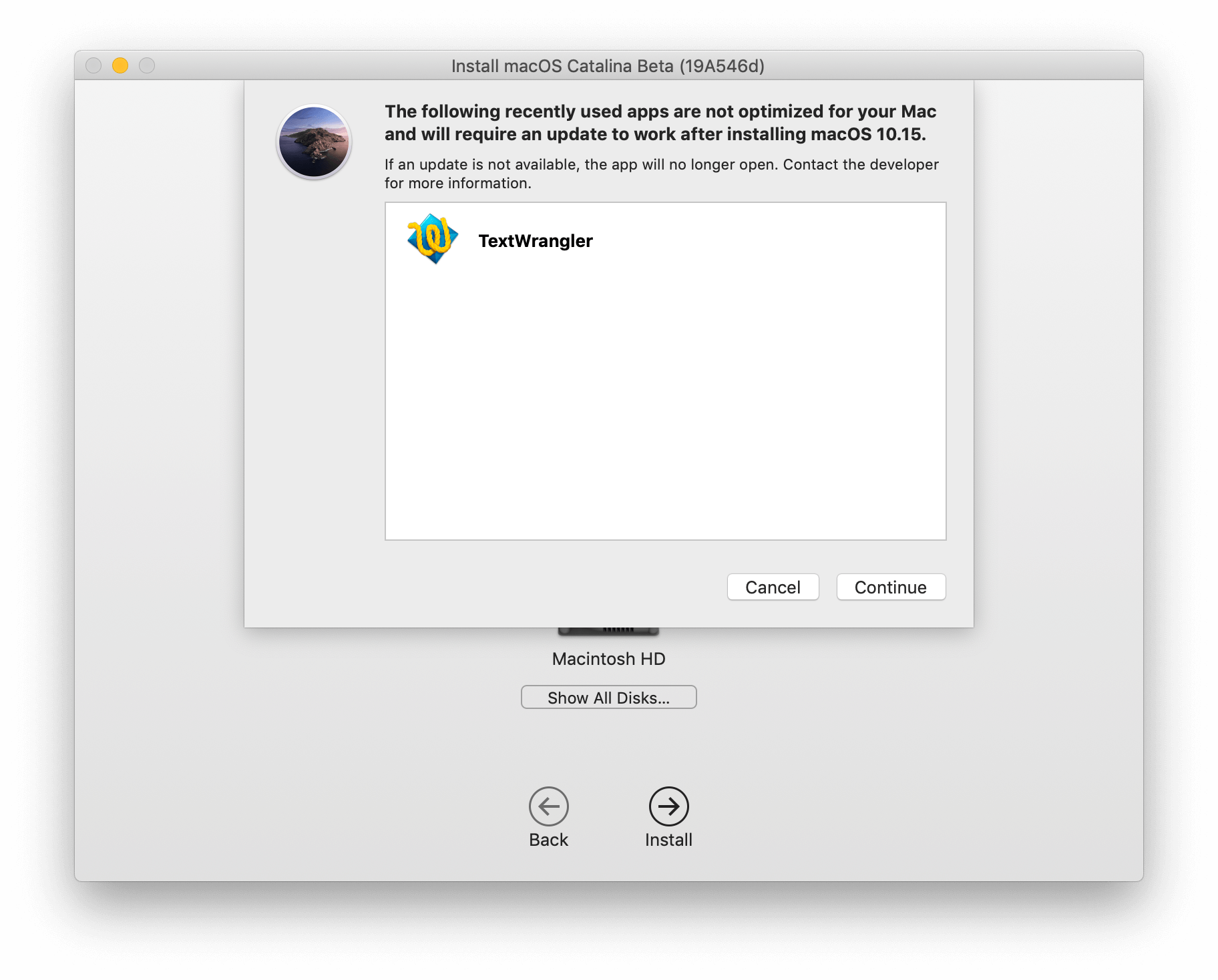 macos catalina requirements