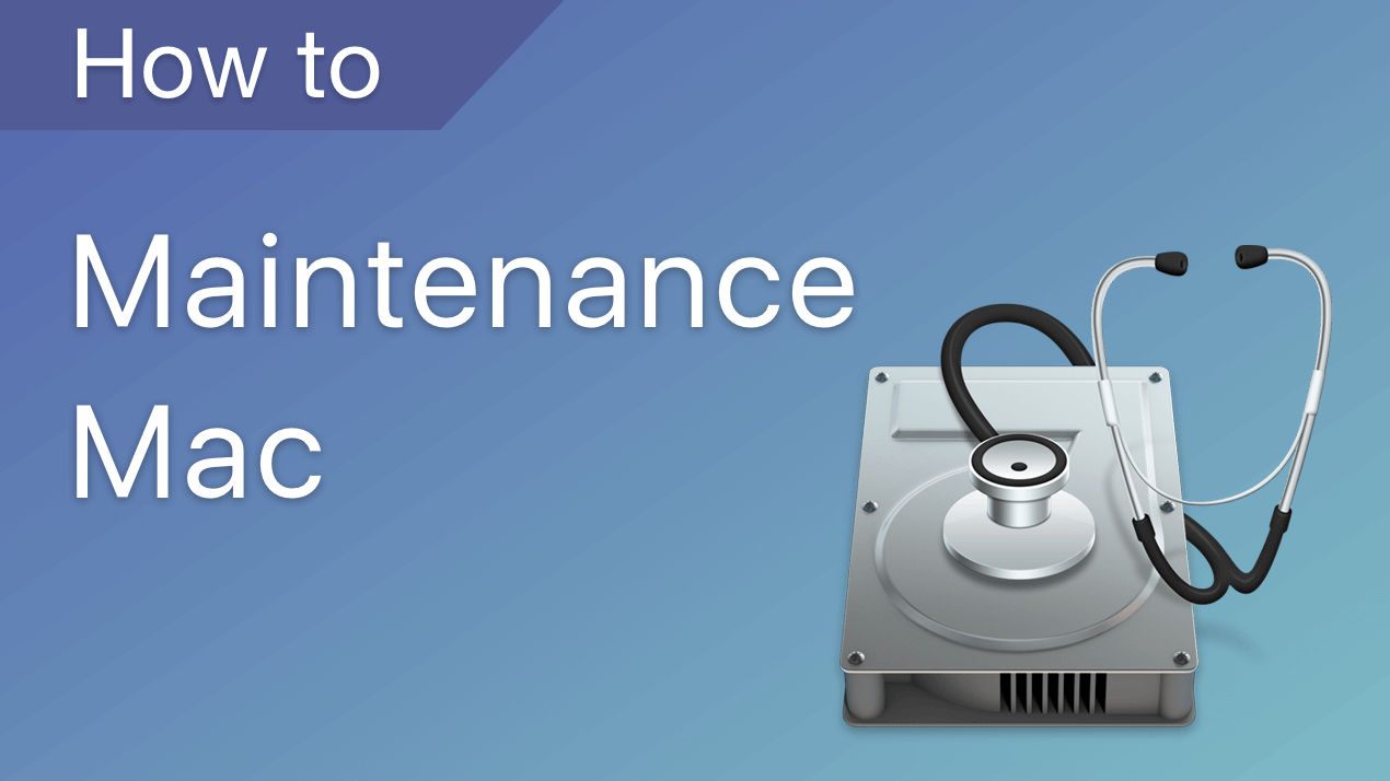 maintenance mac