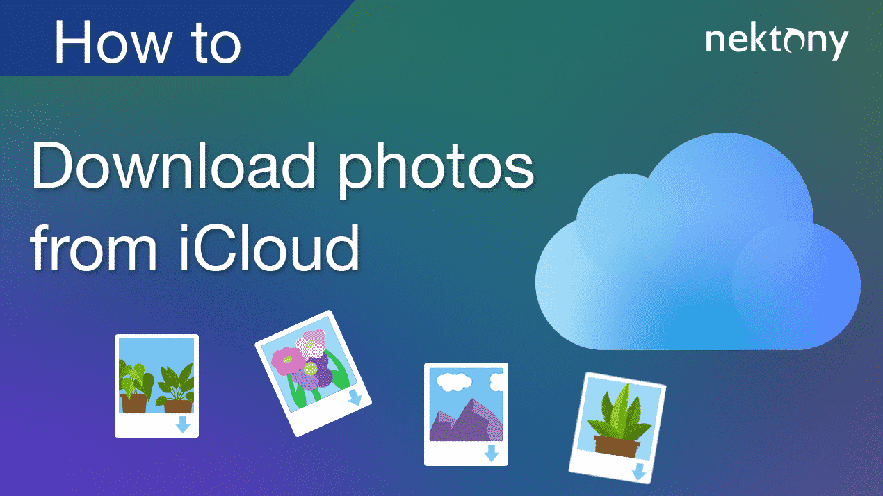 How to download photos from iCloud Photo Library