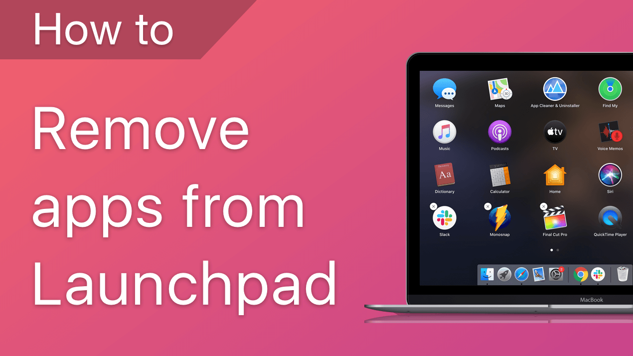how to remove apps from launchpad