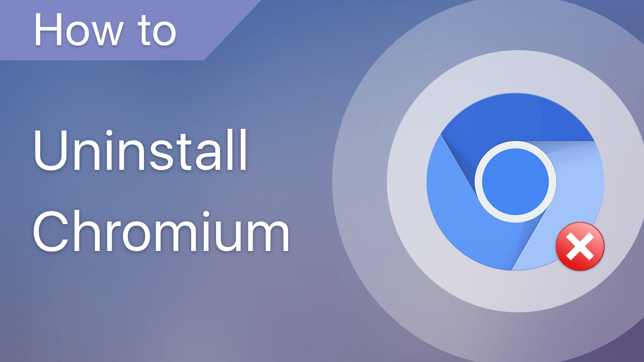 uninstall chromium on mac