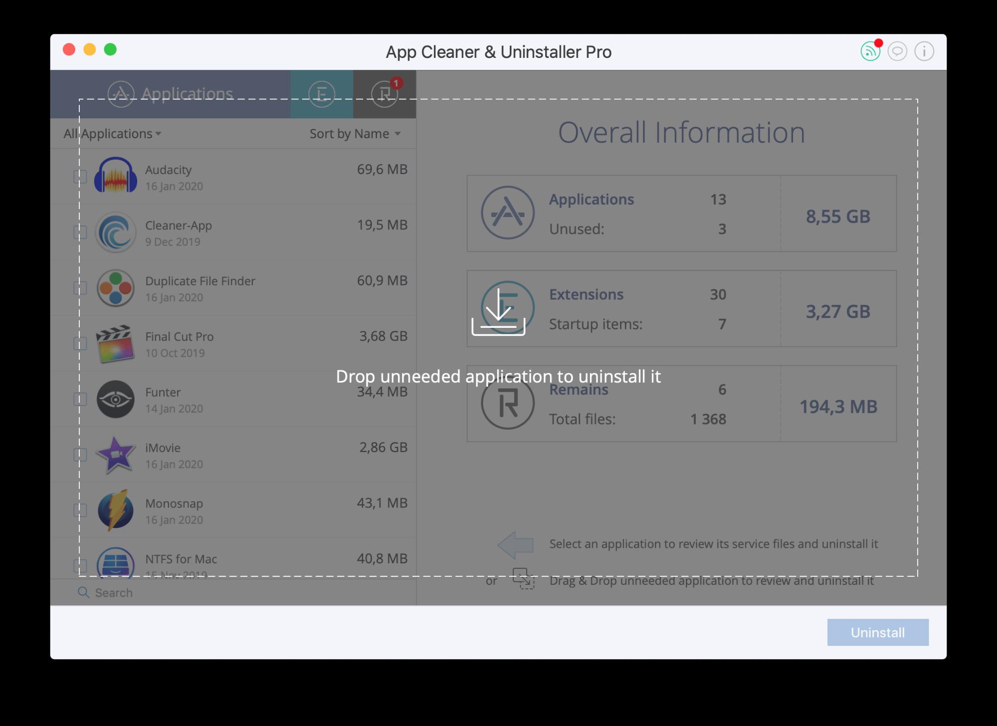 how to uninstall programs on mac