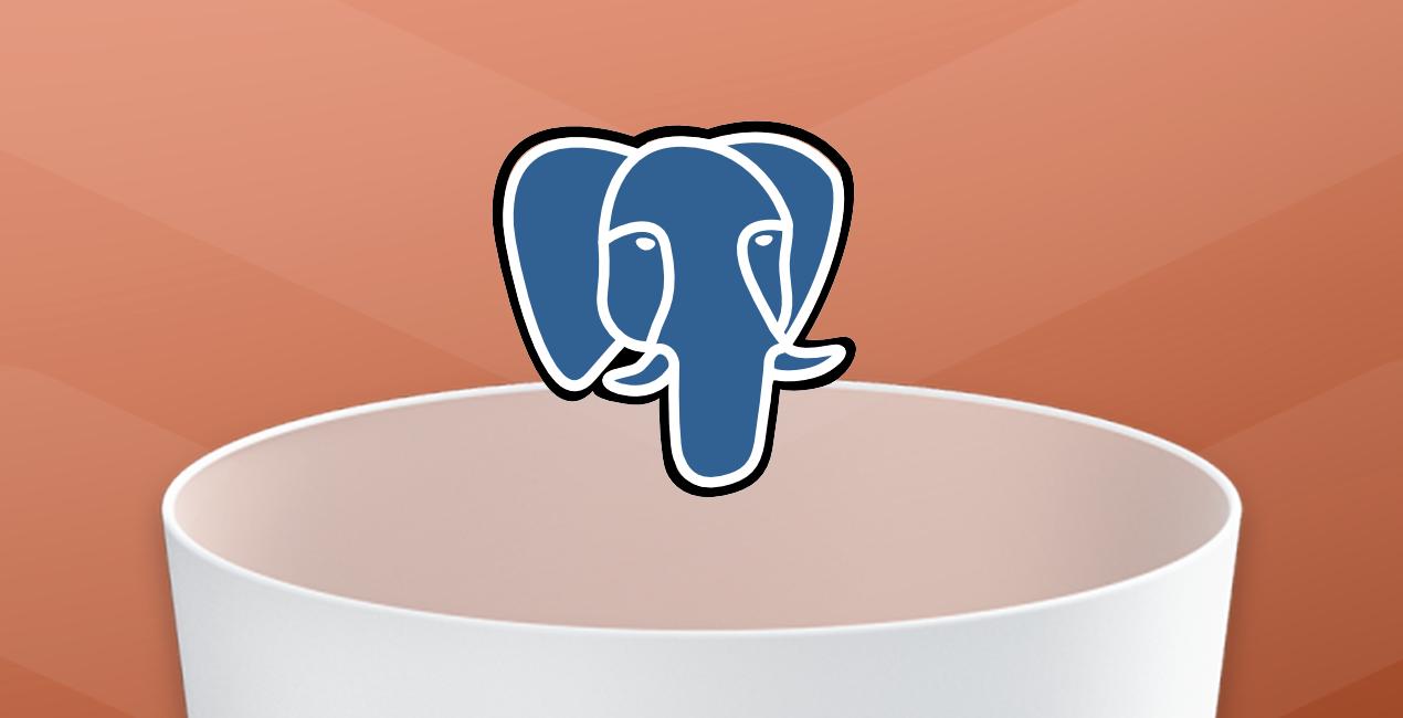 removing PostgreSQL