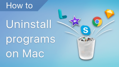 uninstall programs on mac
