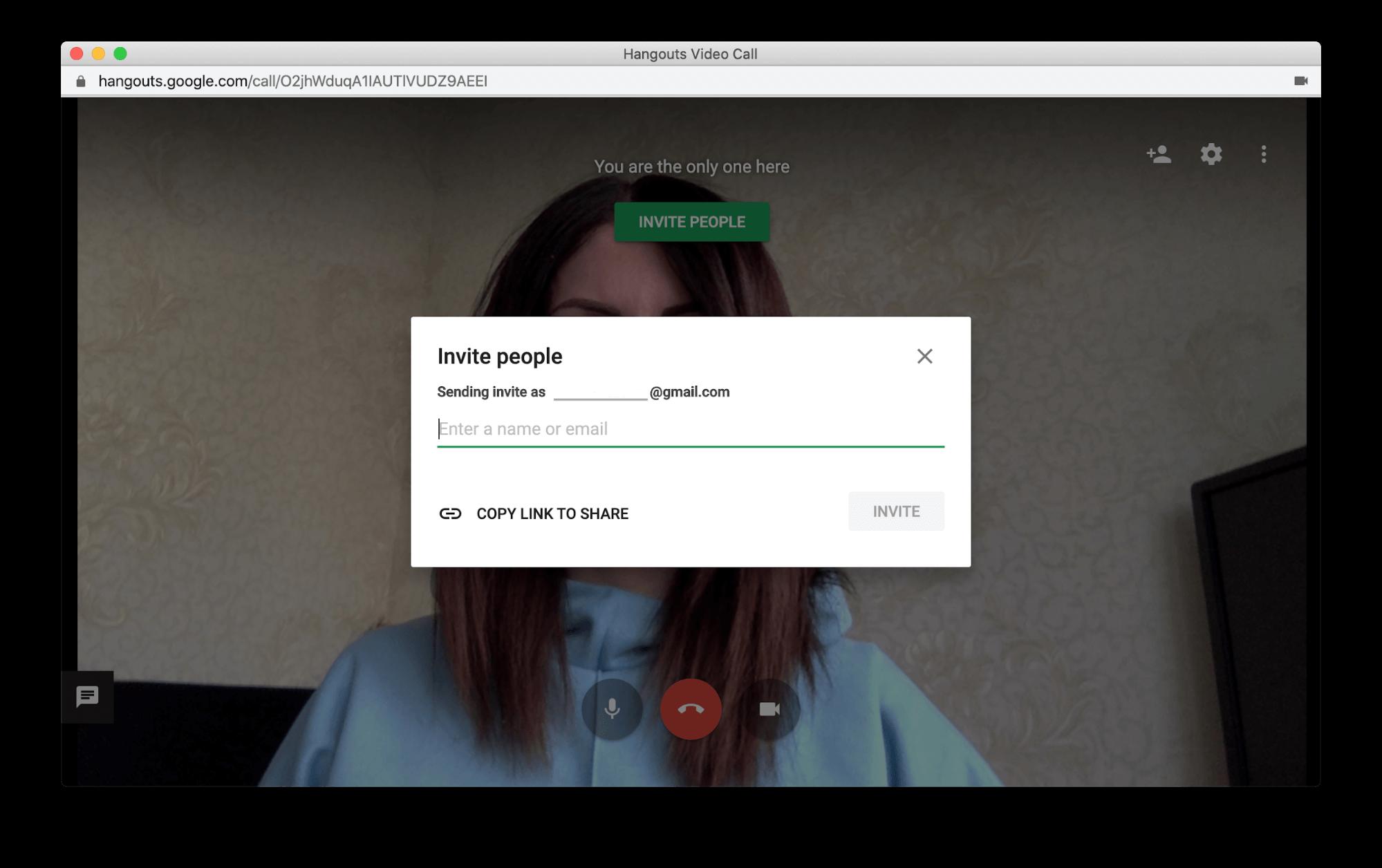 google hangouts mac