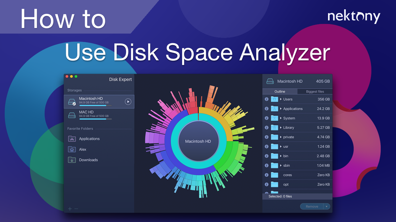 How to use Disk Space Analyzer