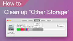 what is other storage on mac