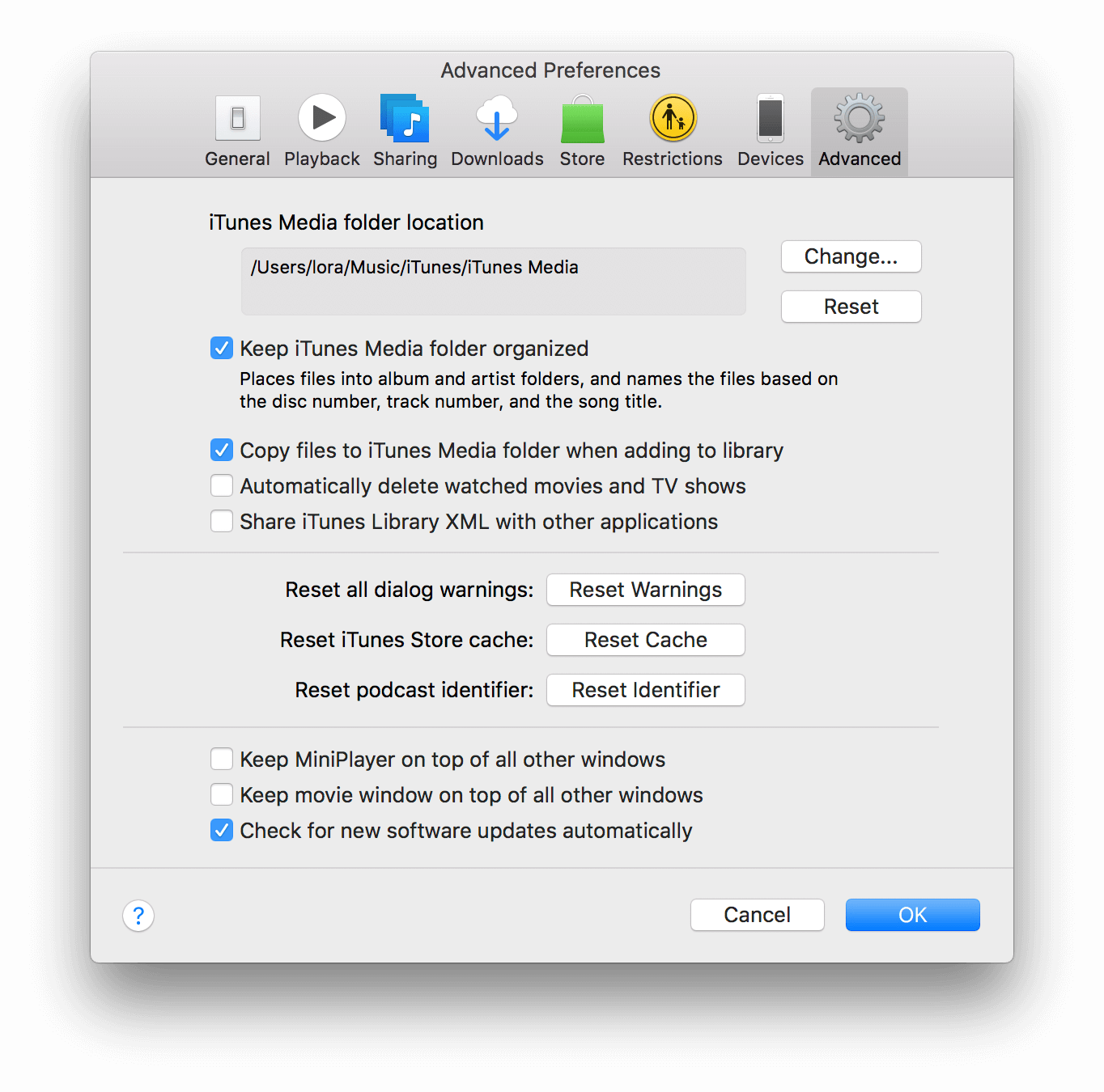 macbook cache reset