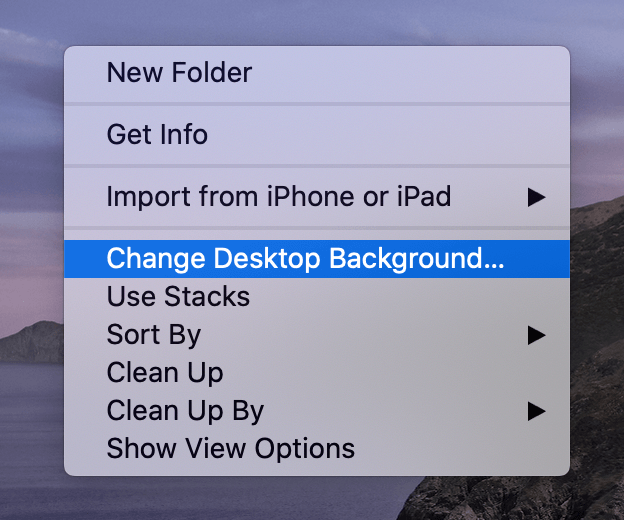 how to set wallpaper on mac