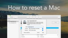 How to reset Mac to factory settings