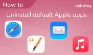 Uninstall default Apple apps on Mac