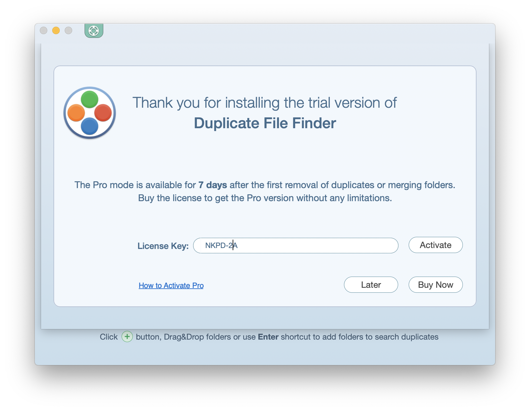 duplicate finder key mac