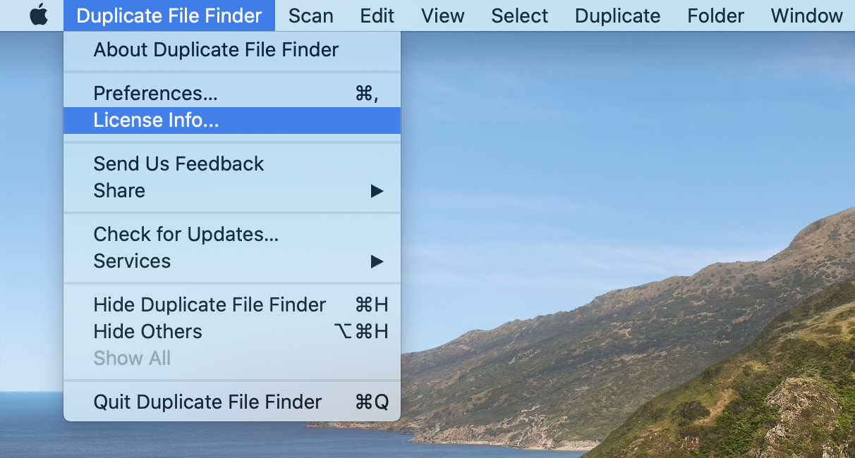find duplicate mac