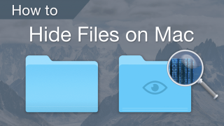 how to hide videos on mac