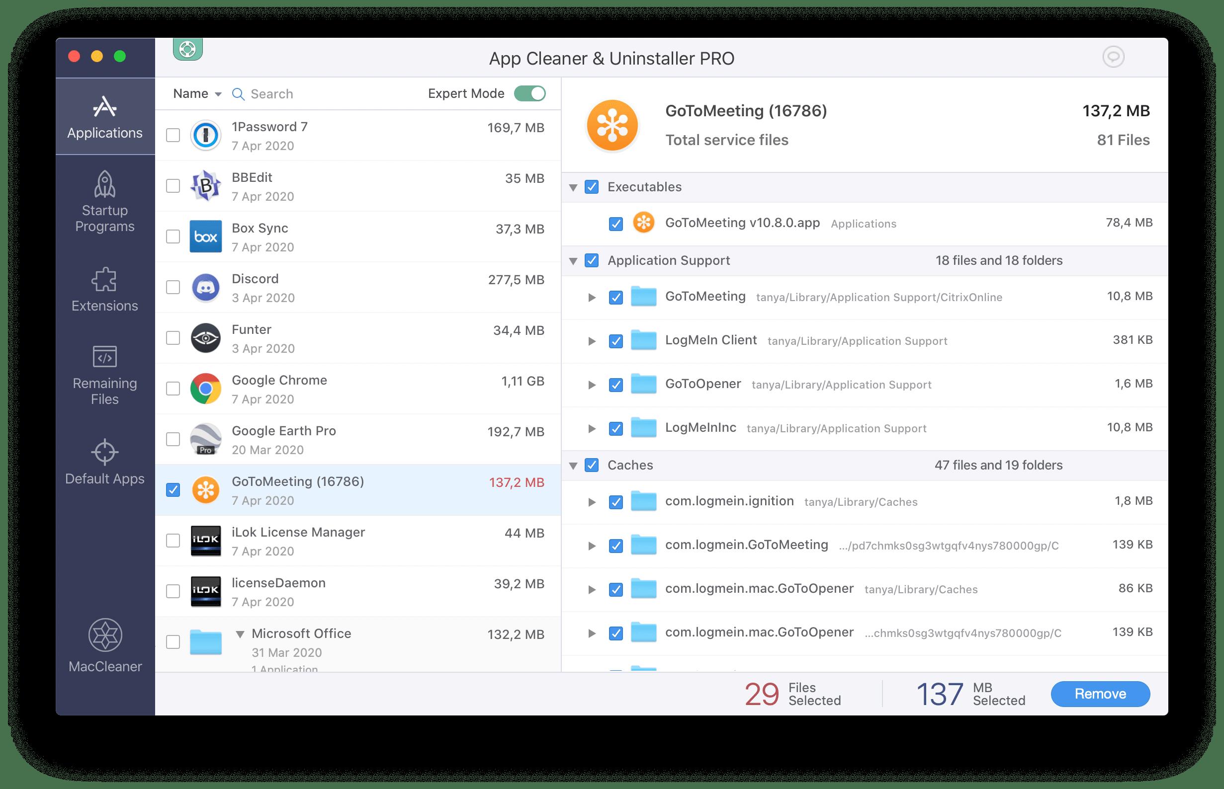 remove gotomeeting mac