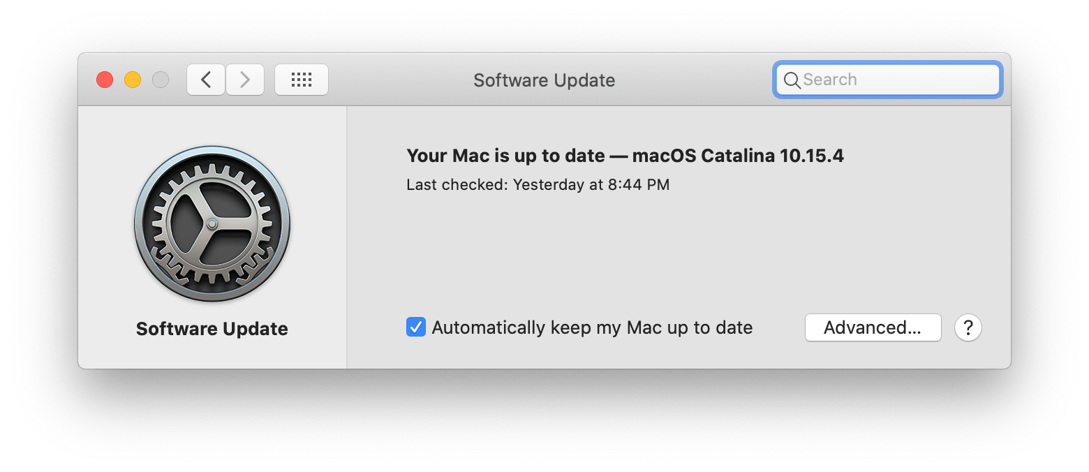 up to date software