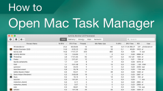 how to open mac task manager