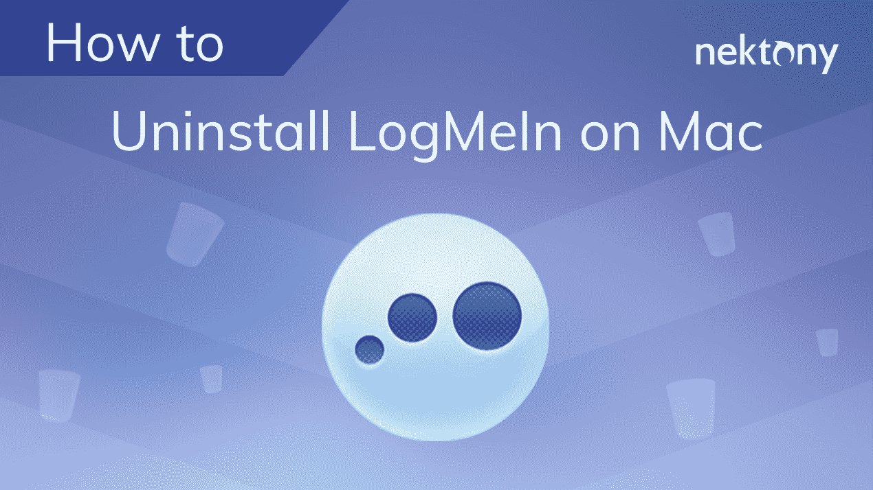 How to uninstall LogMeIn on Mac