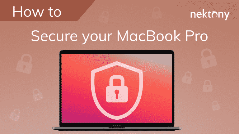 How to secure your MacBook Pro