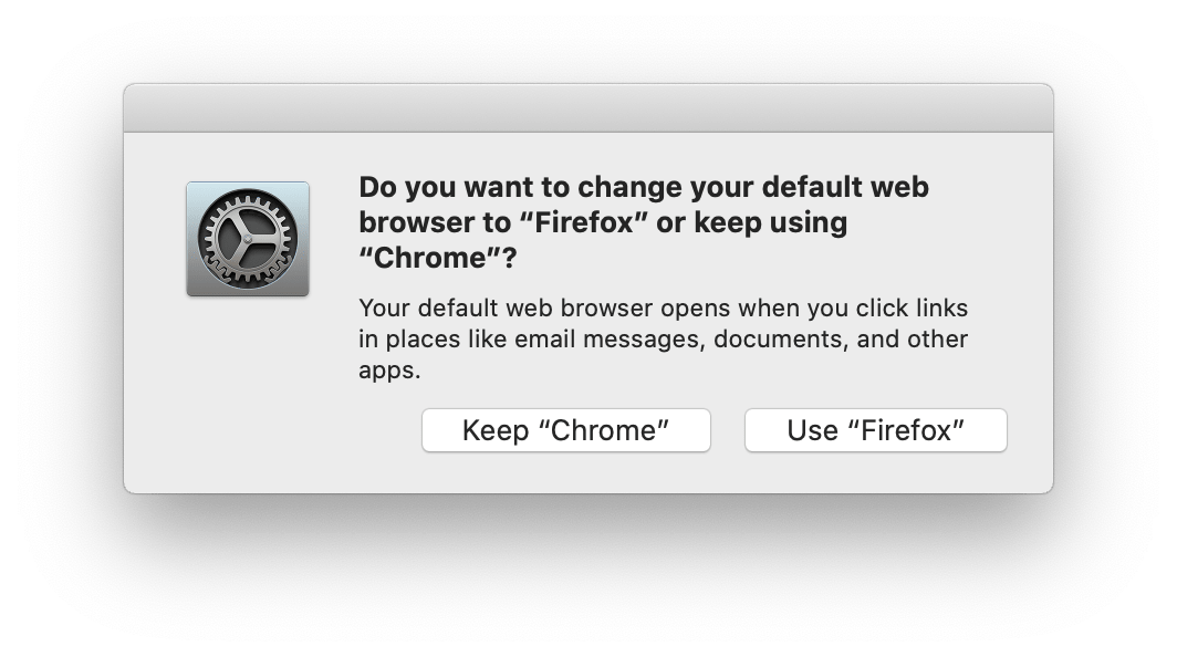 mac firefox default browser