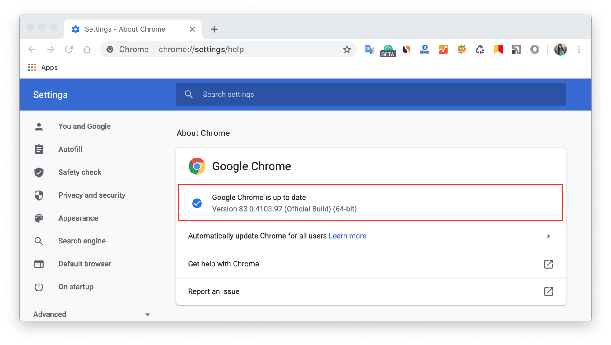 set google as your default browser mac