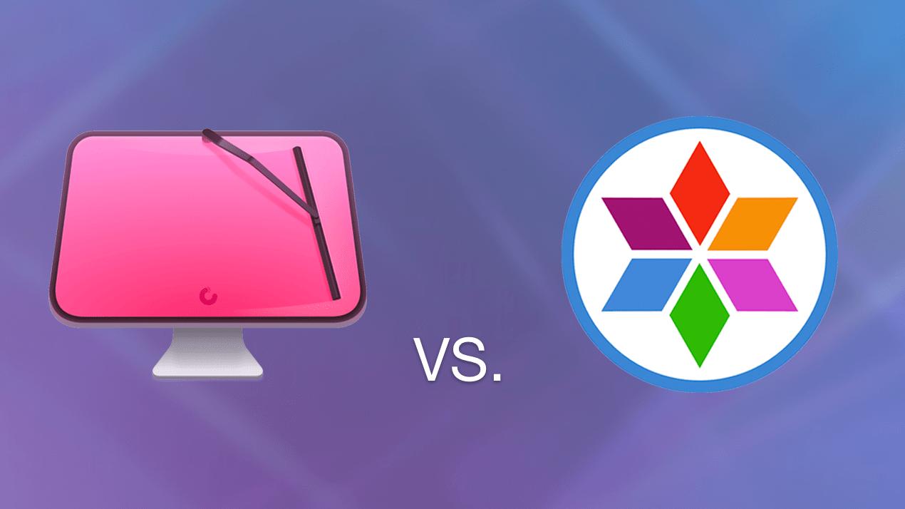 CleanMyMac X vs MacCleaner Pro