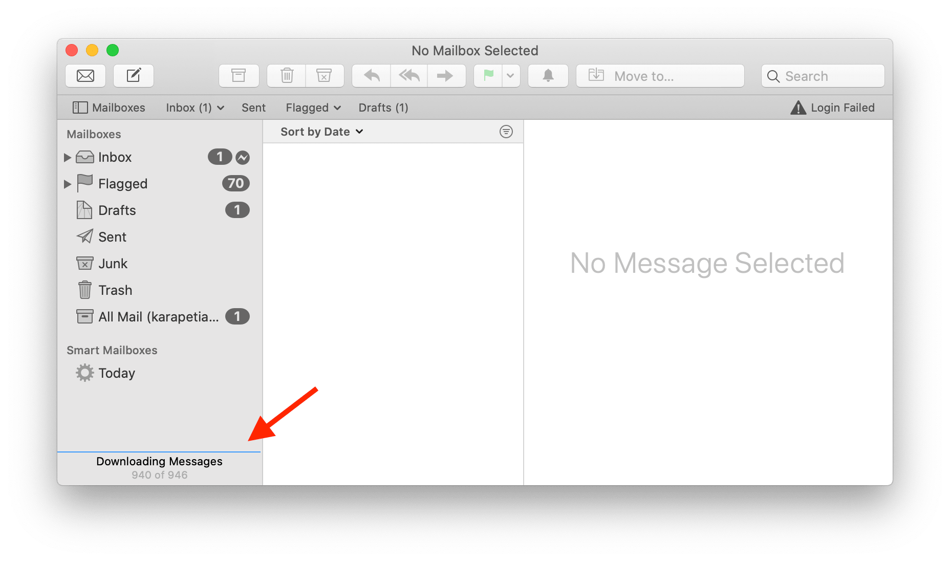 apple mail rebuild