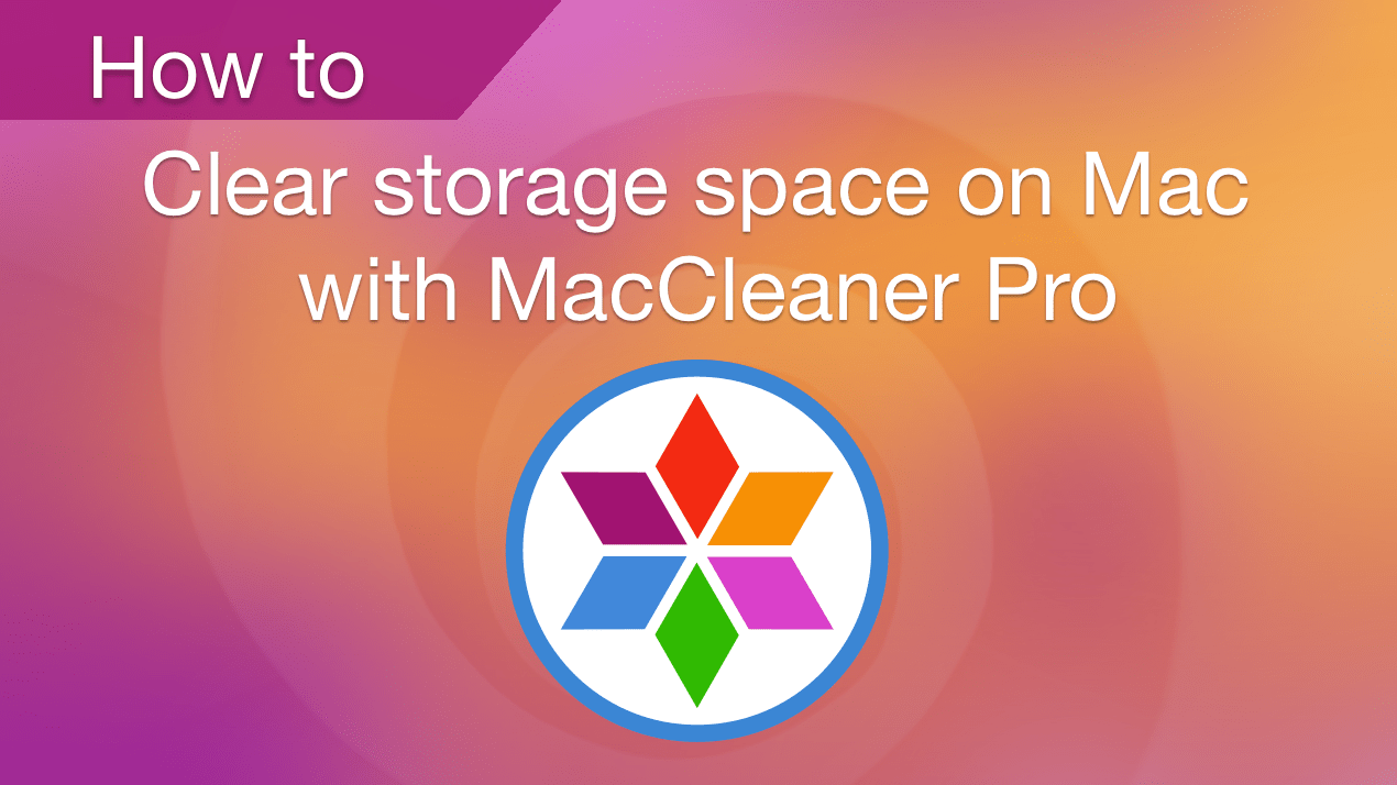 clear space on mac storage