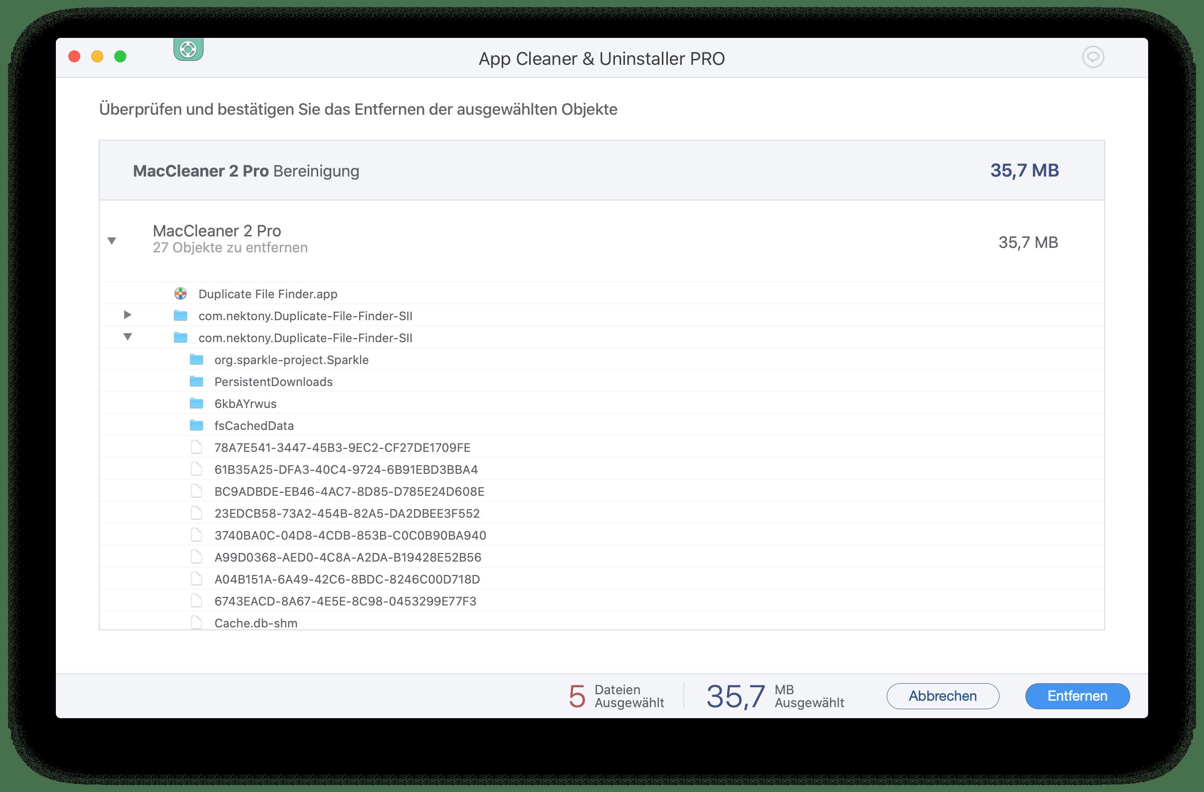 mac programme deinstallieren app