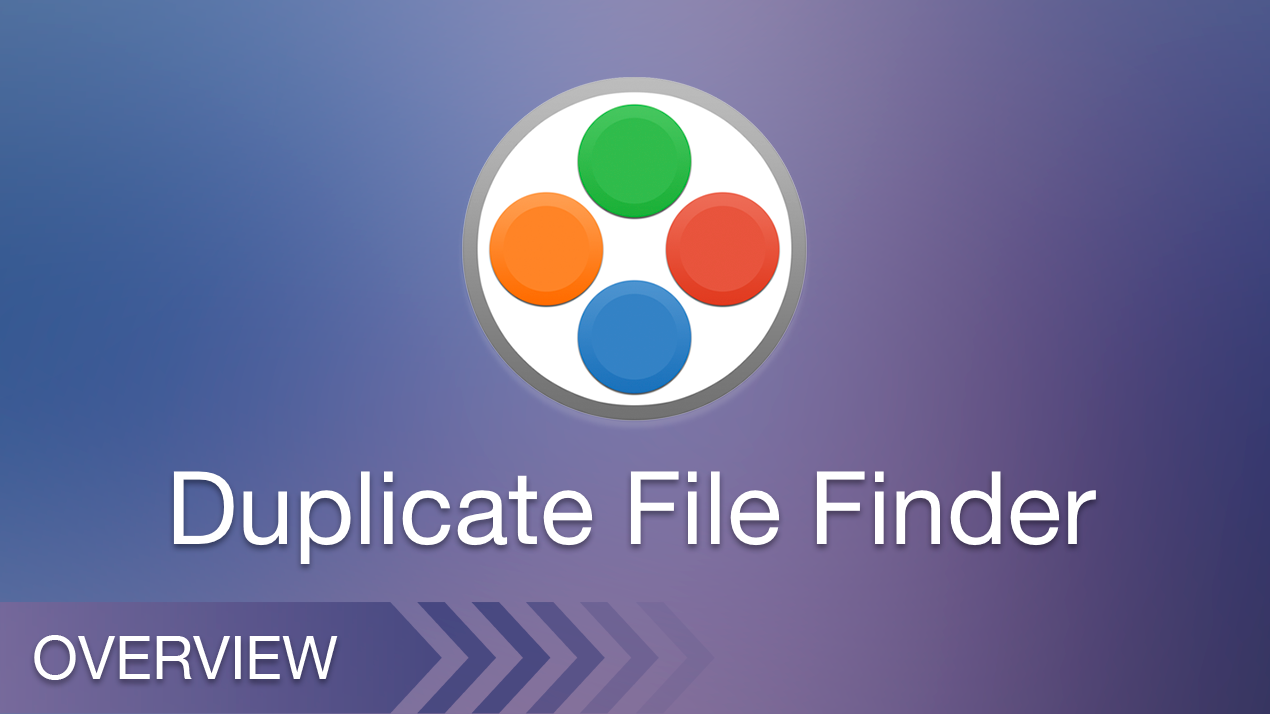 duplicate file finder overview
