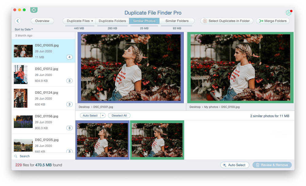 free duplicate photo finder
