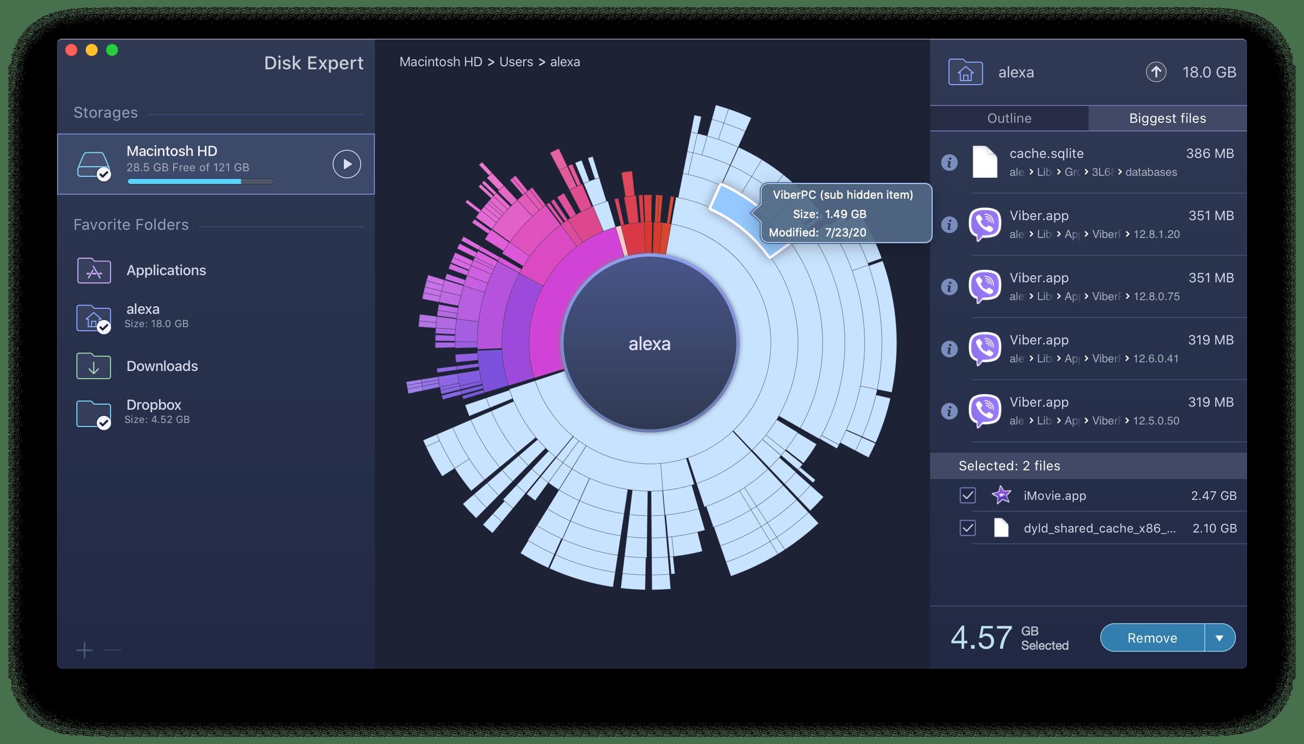 apple mac disk analyzer
