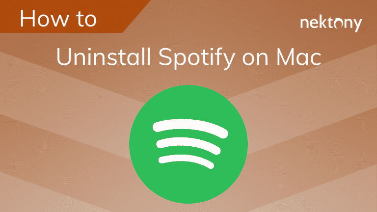 How to uninstall Spotify on Mac