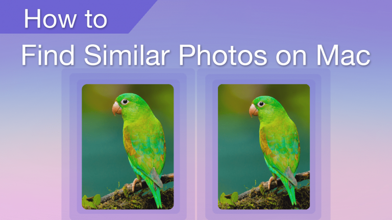 How to Find Similar Photos on Mac