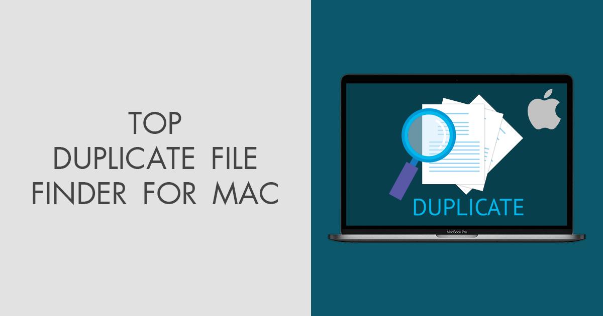 10 Best Duplicate File Finders for Mac in 2020