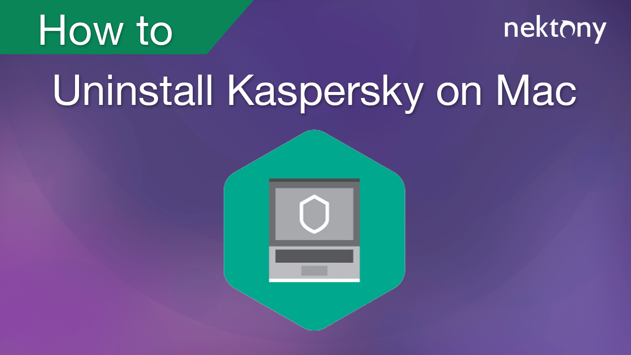 uninstall kaspersky banner