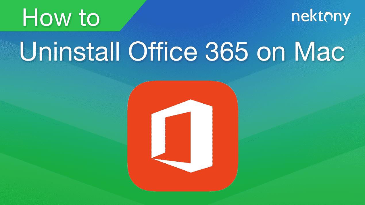 uninstall office 365 banner