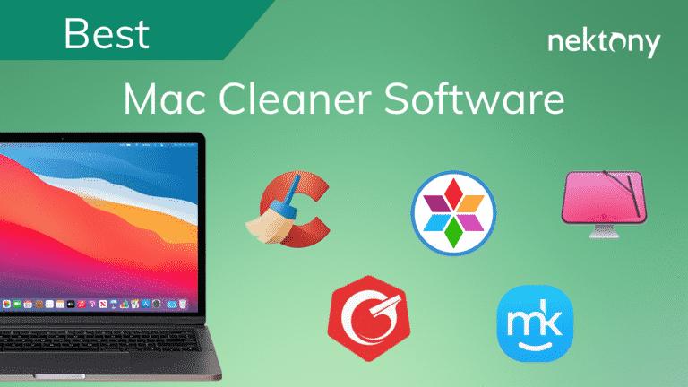 Best Mac Cleaner Software in 2021